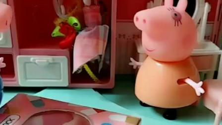 猪爸爸送给猪妈妈礼物,以为猪妈妈会很开心,没想到被猪妈妈误会了!