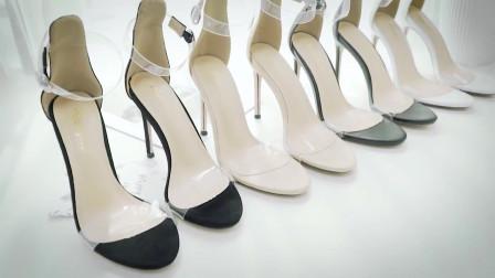 女人的美脚,配得上一双优雅的细高跟凉鞋!