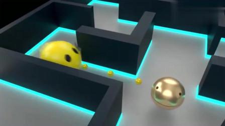 吃豆人大作战:吃豆人和金色吃豆人比赛,究竟谁更胜一筹?