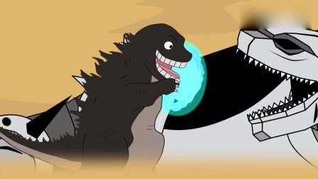 哥斯拉:哥斯拉让邪恶坦克得到进化, 动漫特效