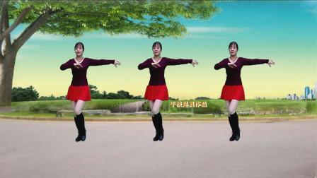 情歌广场舞《情花几时开》情话情话悄悄说,情歌飘过来,歌好听舞好看