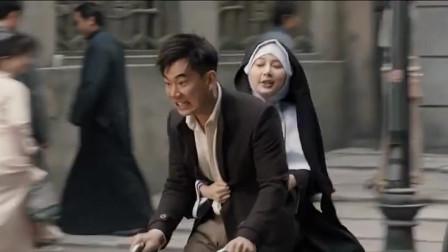 双城计中计:任贤齐偷东西后逃跑,逃跑路上状况百出笑人