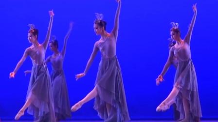 北舞附中古典舞《有凤来仪》,舒展的动作尽显女性柔美,漂亮!