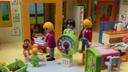益智玩具亲子游戏:小萝莉小正太的趣味捉迷藏游戏,谁能获胜?