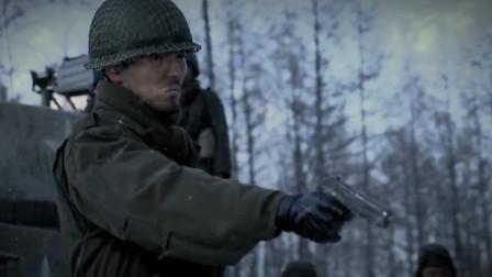 小士兵犯错,长官二话不说就掏枪,吓唬谁呢!
