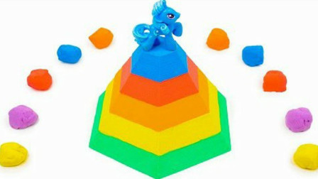 太空沙创意DIY城堡益智玩具,儿童色彩认知激发宝宝想象力创造力