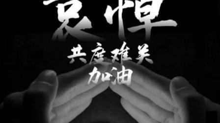 """向""""抗疫""""逝世和逝世同胞沉痛哀悼,在悲痛中凝聚不屈力量,我们是中华民族!"""