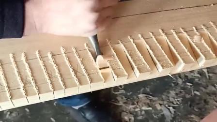 这是木头还是豆腐?山东手艺人这么加工,速度太快了吧