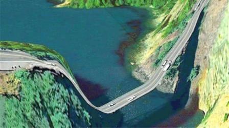 """全球最会""""骗人""""的大桥,司机开到一半以为桥断了,不敢往上开!"""