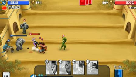胖虎游戏:城堡粉碎战,敌人的战术很合理,这把输的心服口服!