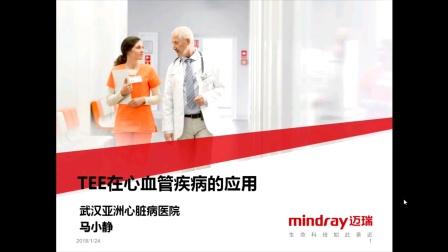 TEE在心血管病的应用  马小静教授 武汉亚洲心脏病医院