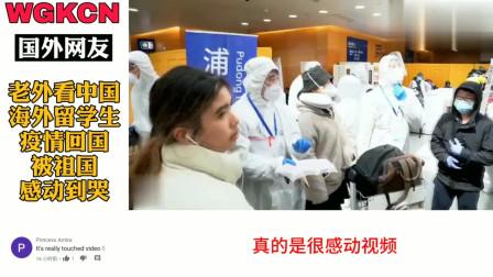 老外看中国:海外留学生疫情回国被祖国感动哭 老外热议:做中国人真好