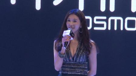林志玲参加某内衣品牌活动,开场精彩瞬间