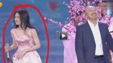 张碧晨作为专业歌手,一般都不轻易笑场,遇见腾格尔就不一样了
