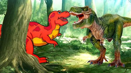 恐龙世界儿童简笔画,画一只蛇发女怪龙,男宝宝:看看就很满足啦!