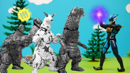 托雷基亚奥特曼石化了怪兽军团