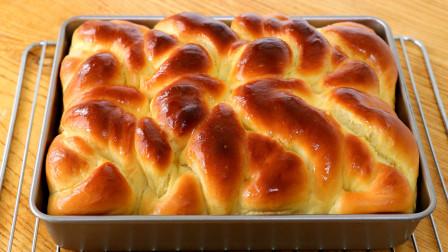 经典老式面包:教你家庭配方,做法详细简单易学,细腻柔软又拉丝