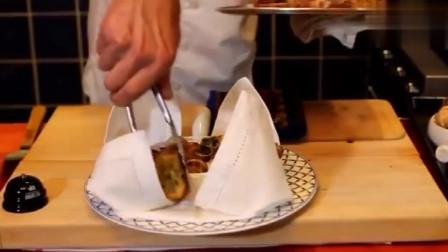 实拍:法国特色美食,法式红酒焗蜗牛,中国游客来法国才能吃到正宗的法式蜗牛