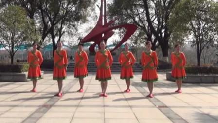 广场舞《流浪的牧人》正背面演示加分解动作教学