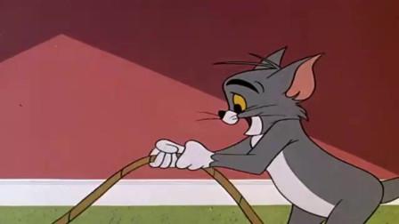 猫和老鼠:汤姆一套操作强行作死,杰瑞给了他很大的帮助!