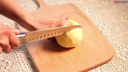 不用揉面的超大苹果派,酥酥脆脆还拉丝