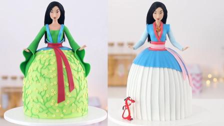 """这样做的蛋糕我还是第一次见!做成""""蛋糕版花木兰"""",创意100分"""