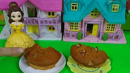 贝尔说妹妹要带男朋友,做了不同的蛋糕,考验妹妹的男朋友
