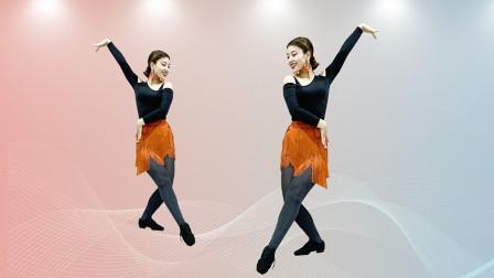 糖豆广场舞课堂《牵挂你的人是我》拉丁舞教学