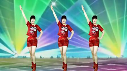 经典老歌广场舞《潇洒走一回》网红动感32步,减脂减肥一看就会