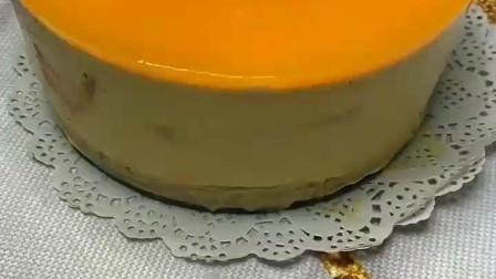 芒果慕斯蛋糕,Q弹爽滑,入口即化,老少皆宜,跟着视频学制作吧