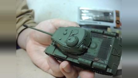 六分仪 is-2 坦克模型 1:72 闲谈