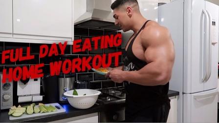 Andrei Deiu' - 一整天的饮食/居家训练