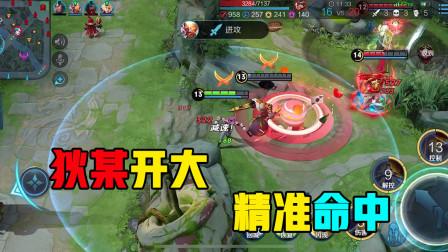 王者荣耀:狄仁杰大招给了刘备,团战位置完美,无所畏惧打就完了