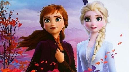 《冰雪奇缘》 艾莎&安娜  艾莎为安娜准备生日惊喜