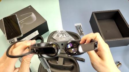 华为VR Glass开箱:才卖2999元?感觉内置了一台P40 Pro?