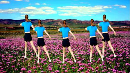 三步踩瘦身减肥操《黄玫瑰》坚持半小时,瘦身不是梦