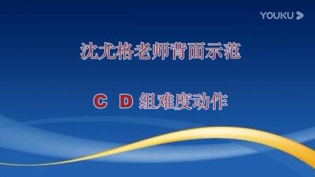 柔力球C组D组难度动作组合表演沈优格老师