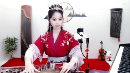 #音乐最前线#古筝羡儿小姐姐的古筝弹奏技术好棒棒哦