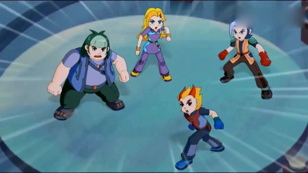 晶码战士:少年们被命运选为晶码战士,利用晶码机激活了四大神兽