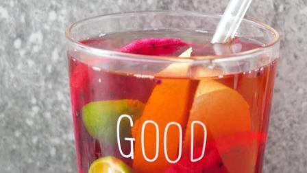 教你做养颜水果茶,滋补润燥,哪还用出去买