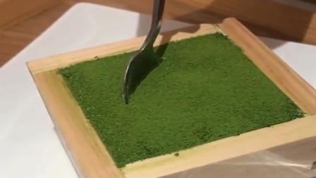 日本名吃抹茶提拉米苏,减肥的小姐姐要远离这个,会反弹的!