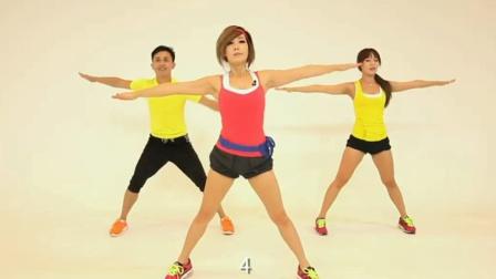 产后减肥健身操,20分钟健身操教程,瘦身健美操,运动减肥视频!