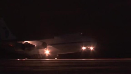 在俄罗斯的帮助下,第二架运送物资的运输机飞往美国!