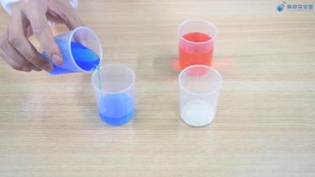 科学小实验系列:彩色雪