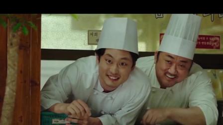 黑道大哥马东锡弃恶向善,转行厨子教育年轻人的韩国电影《始动》