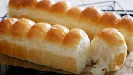 教你正宗的面包做法,学会这个诀窍,面包才柔软蓬松,一次就成功