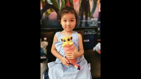 可可宝贝5周岁生日快乐