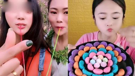 小可爱吃播:巧克力大蒜、橘子瓣巧克力,做吃播真的太幸福了