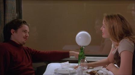 温情解读《爱在黎明破晓前》,美国青年邂逅法国女郎的故事
