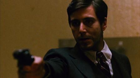 《教父1》经典片段:麦克枪局长和索拉索